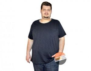 büyük beden erkek cepli tshirt