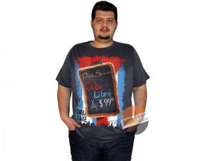 erkek büyük beden tshirt baskili